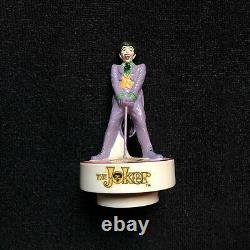 1978 The Joker Villain Figure Ceramic Music Box A Price Import Japan Rare