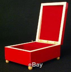 1988 Holiday Barbie Doll Happy Holidays Christmas Wood Enesco Musical Box Lot 2