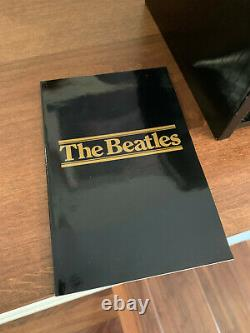 1988 Parlophone 16 CD BEATLES Box Set Collection with Wood Cabinet