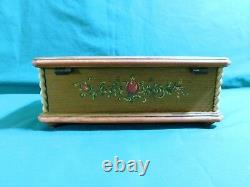 ANRI music box. RARE, hand carved and painted wooden box. Plays Dr Zhivago