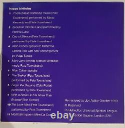 AVATAR Pete Townshend Meher Baba 3CD 1CD-ROM Box Set TheWho Ron Wood Ronnie Lane