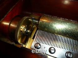 Antique Cylinder Music Box