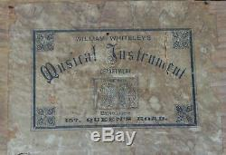 Antique Swiss Music Box C1890 6 Airs Retailer William Whiteleys London