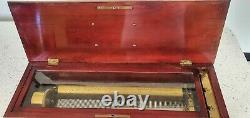 Antique Swiss harmonium Music Box
