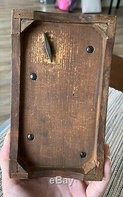 Antique Vintage Thorens PRE REUGE Swiss Wood Music Box Plays 4 Songs 50+ keys