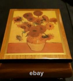 Aspinal of London ERCOLANO Waltz of the Flowers Tune. Music Box Brand New Mint