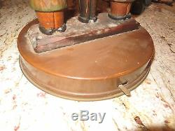 Black Forest Wood Carved Corkscrew Bottle Opener Banjo Player Black Music Box
