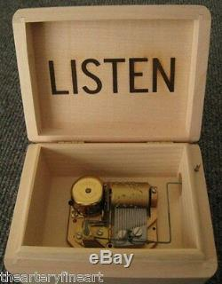 CHRISTIAN MARCLAY'Silent/Listen' 2005 Music Box Norton X-Mas Ltd. Ed. NEW