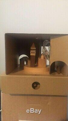 Collectible music box venice city hand made, parts and base made from real wood