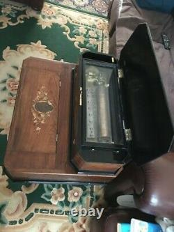 Cylinder Interchangable Music Box