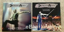 Depeche-Mode-MEGA RARE-LIVE LAST SHOW-TOUR 2018 -BERLIN-WOOD DELUXE BOX-2LP RED