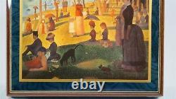 Ercolano MBOF811BL Music Jewelry Box Georges Seurat Decoupage La Grande Jatte