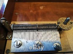 Euphonion Disc Music Box Super Rare Antique c. 1900, like Polyphon