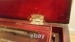 Fabrique De Gene 19th C. Swiss cylinder hand crank antique music box working