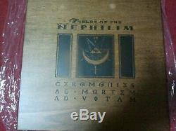 Fields Of The Nephilim Wood Box Very Rare Ceromonies 2cd+2lp+flag+dvd Box+extras