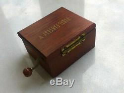 Final Fantasy V Music Box 1992 Japan Squaresoft Very Rare