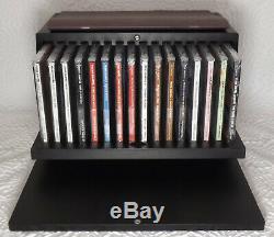 Frank Sinatra Concepts Wood Box Set 16 CD Booklet New Shelf 3A13 GS