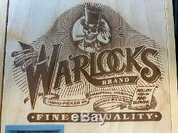 Grateful Dead Warlocks CD Box Set 1989 Hampton Virginia VA Wood Cigar 6 Discs