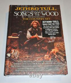 Jethro Tull Songs From The Wood 40th Anniversary Box 3CD & 2DVD The Country Set