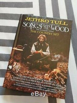 Jethro tull Songs from the Wood CD box set 40th anniversary The Country Set