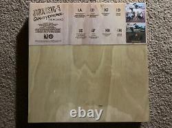 Jurassic-5 Quality Control Lp Wood Box Set 4 Disc Vinyl Record Rare Rsd 2015 New