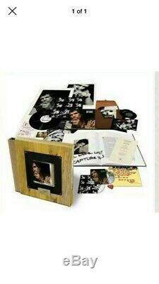 Keith Richards Talk Is Cheap Super Deluxe Box Set 2 LP, 2X7,2 CD, Book, Wood Box