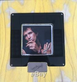 Keith Richards Talk Is Cheap Super Deluxe Wood Box Set 2 LP + 2X7 + 2 CD + Book