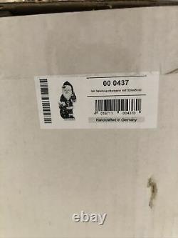 Limited Edition 1000 Ulbricht NC Music Box Santa Nutcracker New Germany 0/437