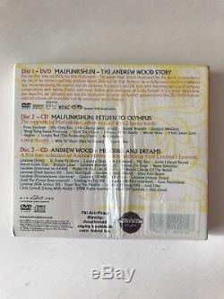 MALFUNKSHUN ANDREW WOOD STORY Self-Titled (2011) 3 CD Box Set Import Mint
