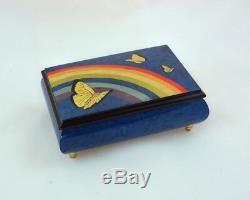 Made in Italy Sorrento Rainbow Music Box (Sankyo 18 Note)