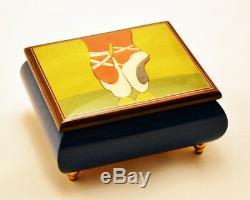 Made in Italy Sorrento ballerina shoe music box (Sankyo 18-notes)