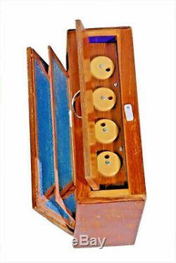 Manual Shruti Box Swar Peti Swarpeti Natural Wood Color 12 notes Indian musical