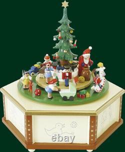 Music Box Weihnachtsbescherung 36er Musical Mechanism Seiffen Decor New 08007