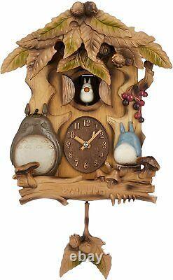My Neighbor Totoro wall clock radio clock automaton clock music box M806A 4