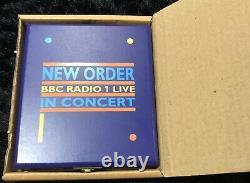 New Order Bbc Live Cd Wood Box Unique