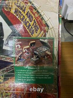 Noma Music Box Christmas Collection Play 6 Popular Classic Nutcracker Songs