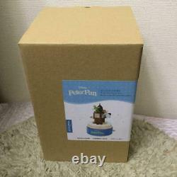 Not Released In Japan Rare Disney Peter Pan Made Of Wood Music Box