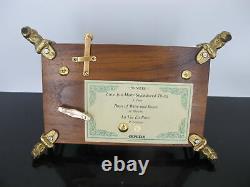 ORPHEUS Sankyo Wood 50 Note 3 LOVE Songs MUSIC Box DOLPHIN Feet