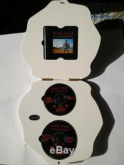 PINK FLOYD, DAVID GILMOUR, DELICATE SOUND OF THUNDER Wood Box Set LIMITED EDITION