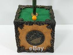Rare 1985 MBSI Orange Tree Music Box Wood Used From Howard Hughes Spruce Goose