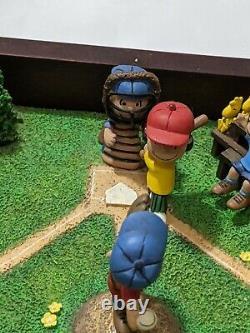 Rare Danbury Mint Play Ball, Charlie Brown Music Box