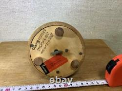 Reuge Henri Music Box Charlie Brown Baseball Wood Carving REUGE ANRI Snoopy S