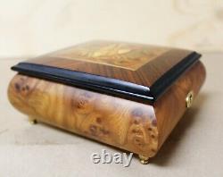 Reuge Music Box'What A Wonderful World' No. 2060 Sainte-Croix Switzerland