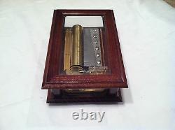 Reuge Music Original Wood and Crystal 3.72 Note Box Fur Elise Beethoven