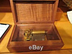 Reuge UNKNOWN SWISS SONGS 2/36 Wood Swiss Music Box KH