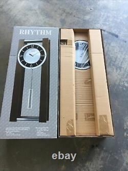 Rhythm Clocks WSM Espresso Musical Wall Clock, Westminster Chime, NEW IN BOX