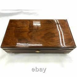 SANKYO ORPHEUS 50 note wood Music Box Swan Lake Die Forelle