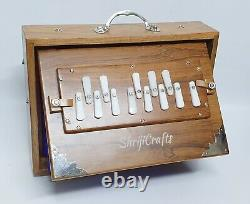 SHRUTI BOX SURPETI SMALL YOGA BHAJAN 432Hz 13 NOTES TEAK WOOD MUSICAL INSTRUMENT