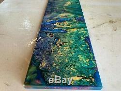 Stabilized hybrid box elder billet tone wood musical. 65 x 7.4 x 22 #281