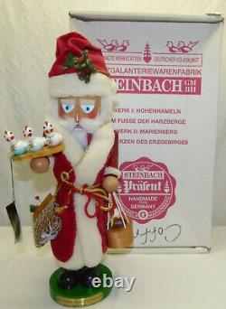 Steinbach Musical Wood Nutcracker 12 Days Xmas Santa S1882 Ltd Edition with Box